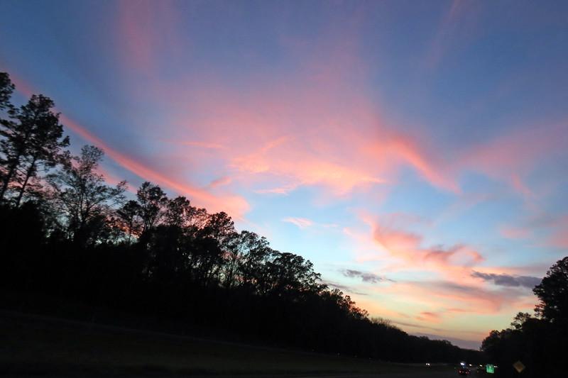 Cool sky, I-20 mile 56 near, Ada, LA.