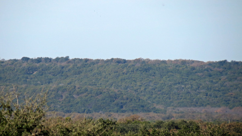 Zooming in on the ridge to the north of the rest area.