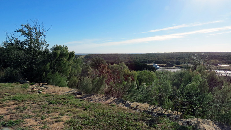 The view from the picnic area was a little overgrown, but you get the idea.