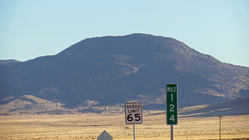 I believe this is Baxter Mountain (7,288 feet), which sits next to Lone Mountain.