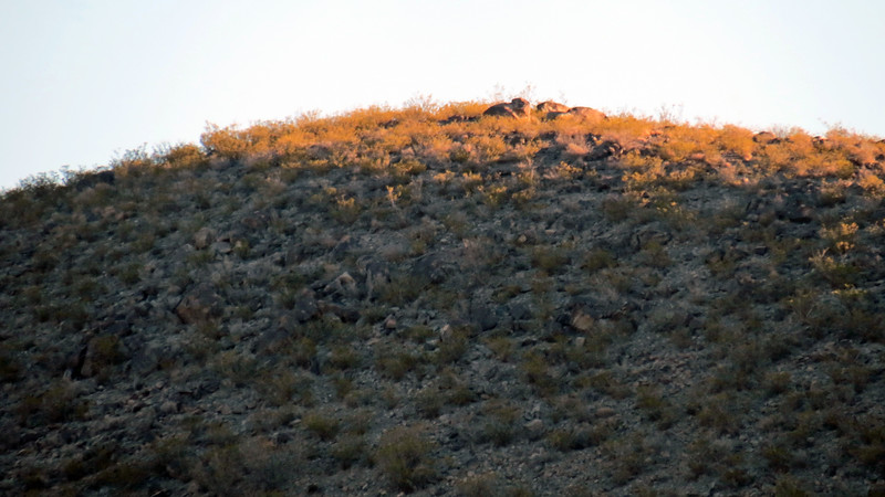 Zooming in on Milagro Hill (5,693 feet).