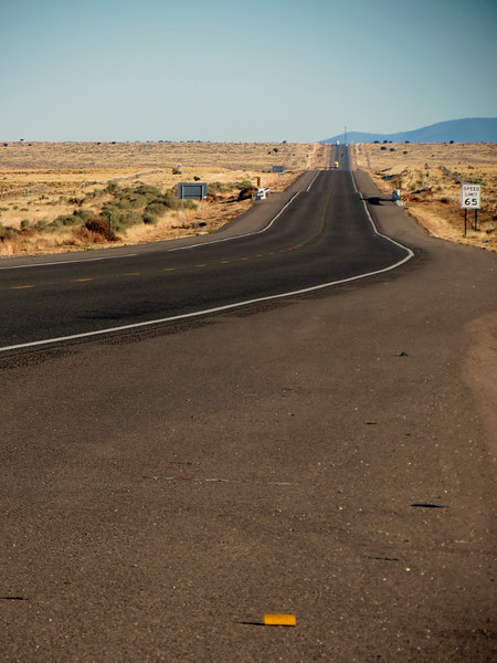 """I pulled over 10 minutes later at what the sign said was a """"Weigh Station"""" near what is labeled on the map as the community of Robsart, New Mexico."""