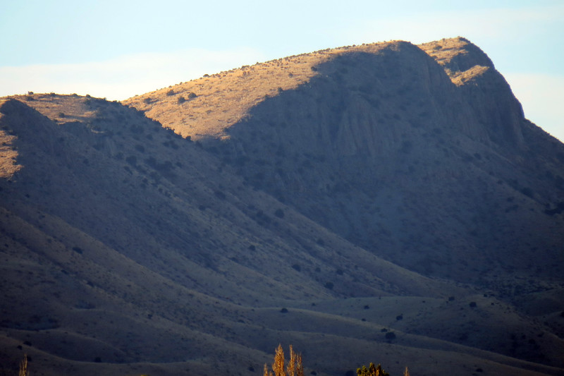 Zooming in on Willow Hill (6,792 feet).