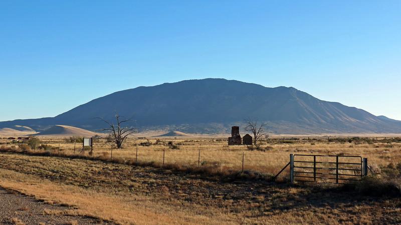 Carrizo Peak (9,620 feet), Carrizozo, NM.