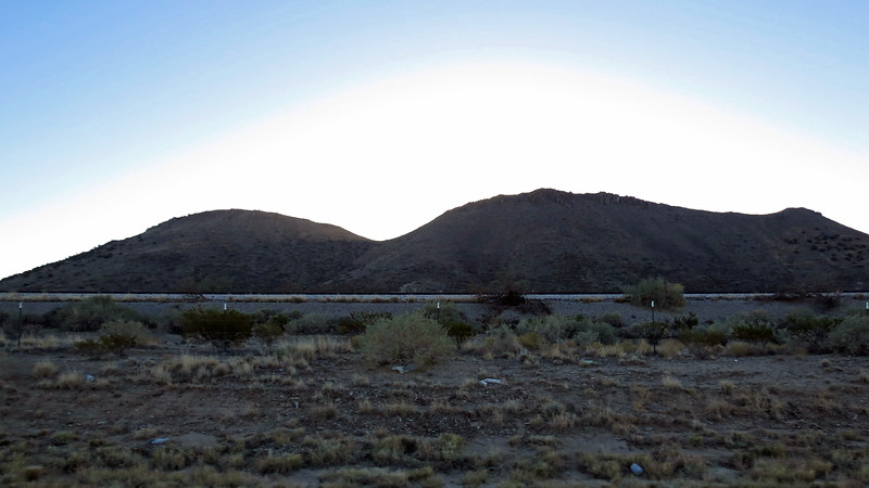 I hit the road again and soon passed by Milagro Hill (5,963 feet) that I photographed earlier.