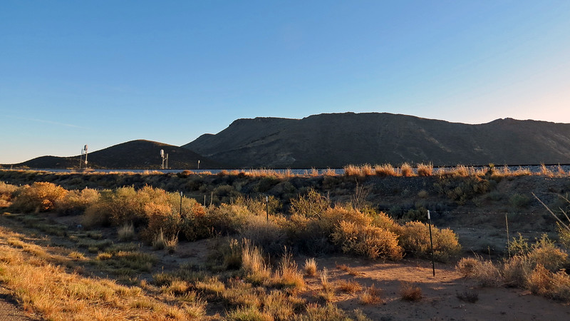 Milagro Hill (5,693 feet) outside of Oscuro, NM.