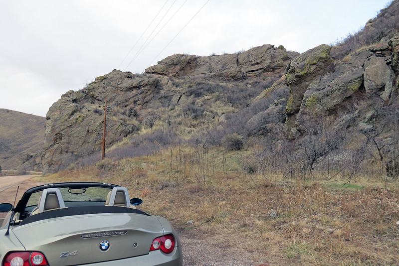We continued on our way and made it about three minutes before I stopped again near the Picnic Rock Natural Area.