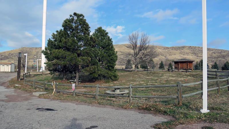 We pulled over at a small roadside park at the intersection of State Route 14 and US Route 287 north of the town of Bellvue, Colorado to take some pics.