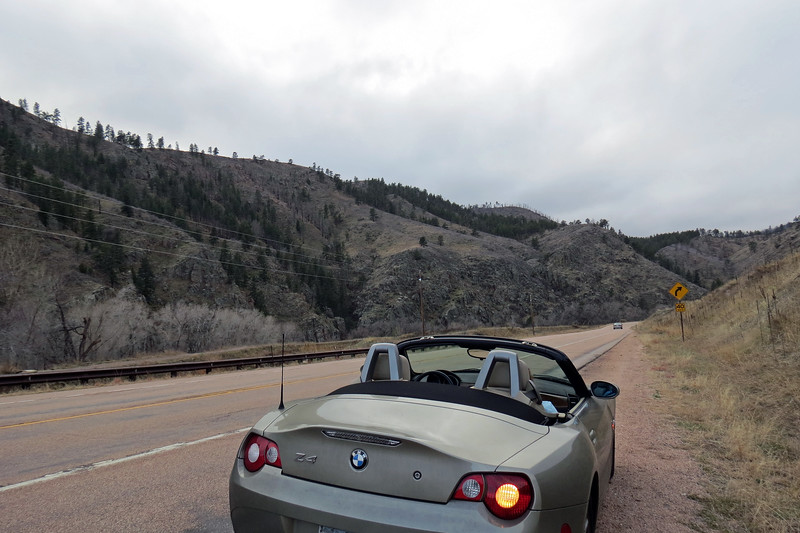 """Being a """"canyon,"""" I figured the roadway would be flanked by the river and the mountains and wasn't disappointed.  And as expected, resisting the urge to take more pics lasted about 5 minutes."""