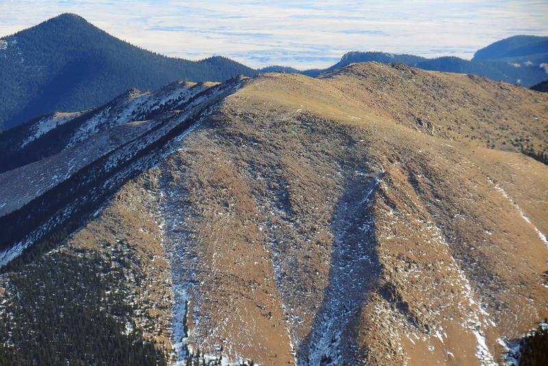 Almagre Mountain (12,367 feet).