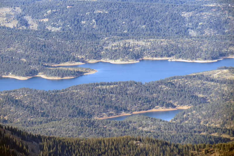 The North and South Catamount Reservoirs.
