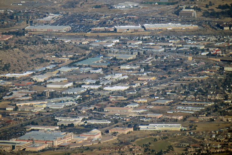 Zooming in on Colorado Springs.