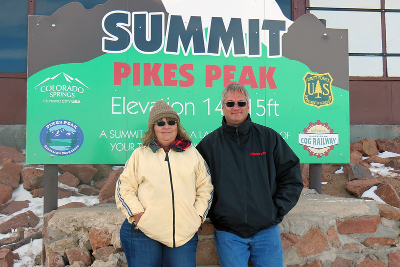 Like the other summit sign, this is also a popular place for tourists to gather to take turns taking pics of each other.