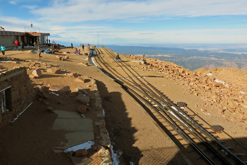The observation deck on which we were standing was built on top of the remains of the original Summit House from 1873.