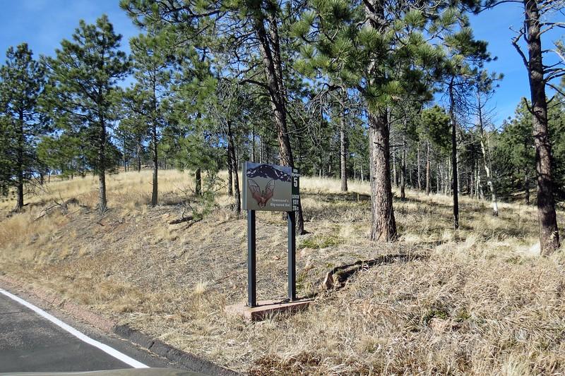 Passing mile marker 5 - 9,120 feet