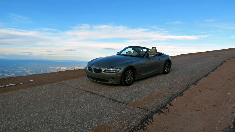 """The Devil's Playground sits next to the series of 180-degree switchbacks known as the """"Ws.""""  We came upon a pullout at one of those switchbacks and stopped to take more pics."""