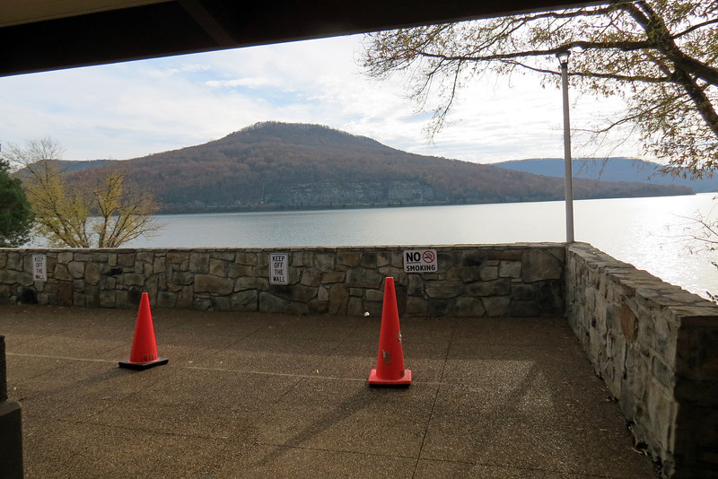 The star of this show is the great view of Nickajack Lake from the center's observation deck.