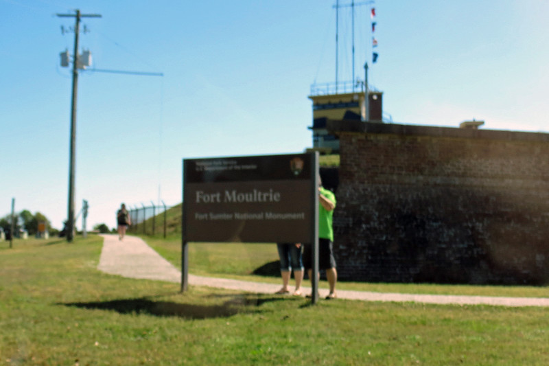 British soldiers departed in 1782, and the name reverted back to Fort Moultrie.