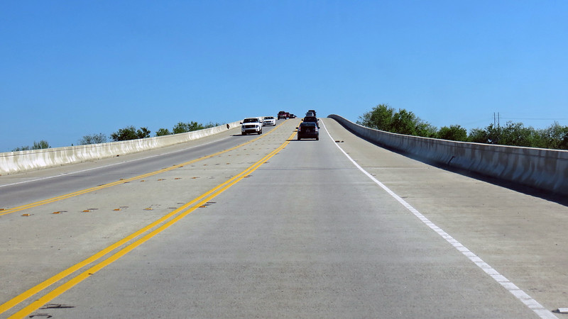 The Isle of Palms Connector also reminded me of my Jekyll Island trips, although it is a bit wider than the Jekyll Island Causeway.