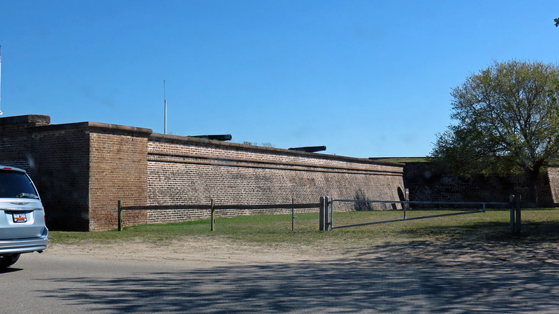 Sullivan's Island is the home of Fort Moultrie which dates from 1776.