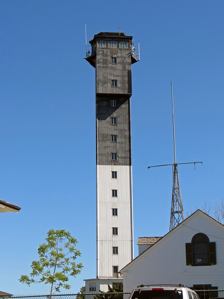 "Being from 1960, the Sullivan's Island Lighthouse is quite ""modern"" compared to its counterparts.  The triangular shape allows it to withstand hurricane force winds.  It was also constructed with ""modern"" things like an elevator and air conditioning."