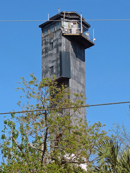 The lighthouse dates from 1960 and was built to replace the nearby Morris Island Lighthouse.