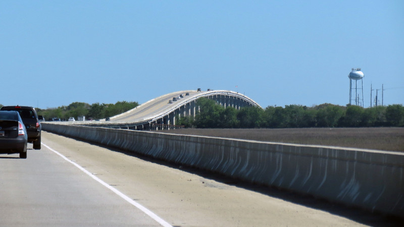 Like Jekyll Island, access to the Isle of Palms is via a bridge.  Although unlike Jekyll Island, there is more than one way onto/off of the Isle of Palms.