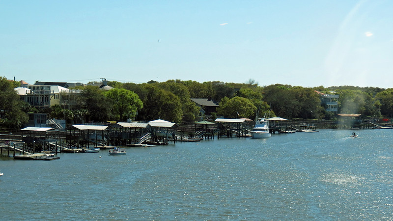 Waterfront living on the Isle of Palms.
