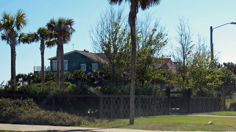 An oceanfront home, Isle of Palms, South Carolina.