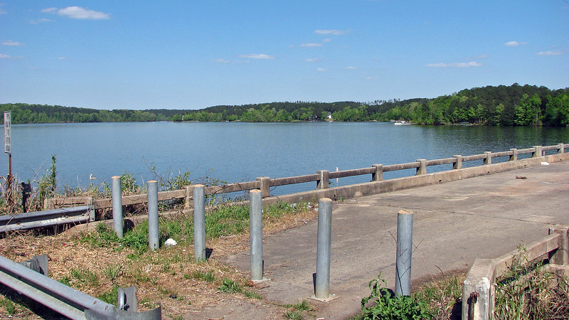 My wife and I were crossing over Lake Oconee on US Route 278 outside of Madison, Georgia and pulled over to take a few pics of the lake and the old bridge.