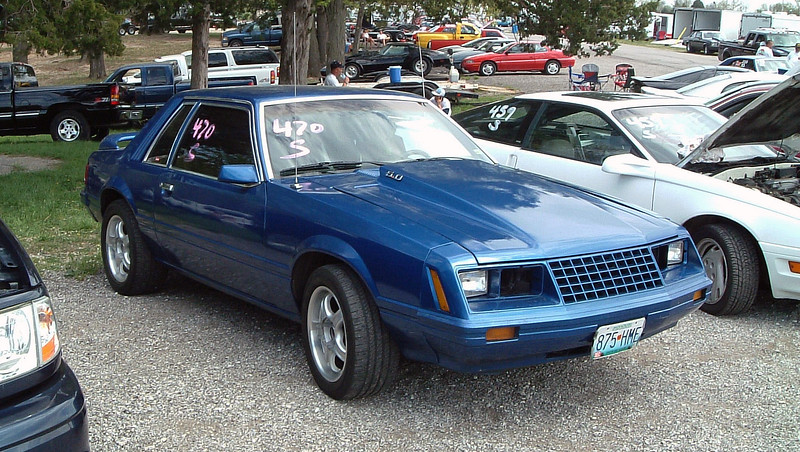 Shannon's ride was a modified 1980 Ford Mustang, a solid high-13 second car.