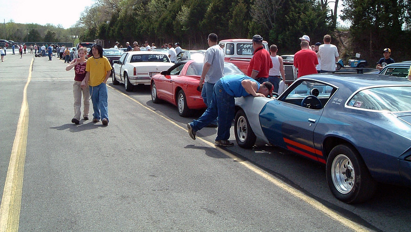The Trophy Street class was eventually called to the staging lanes for the first round of eliminations.