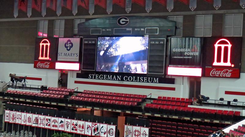 UGA's Stegeman Coliseum.