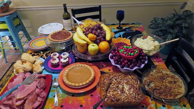 She had prepared quite a feast !