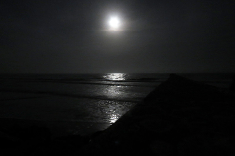 Being at the beach over Christmas with a full moon and mid-70s is probably about as close to ideal for me as it can get.
