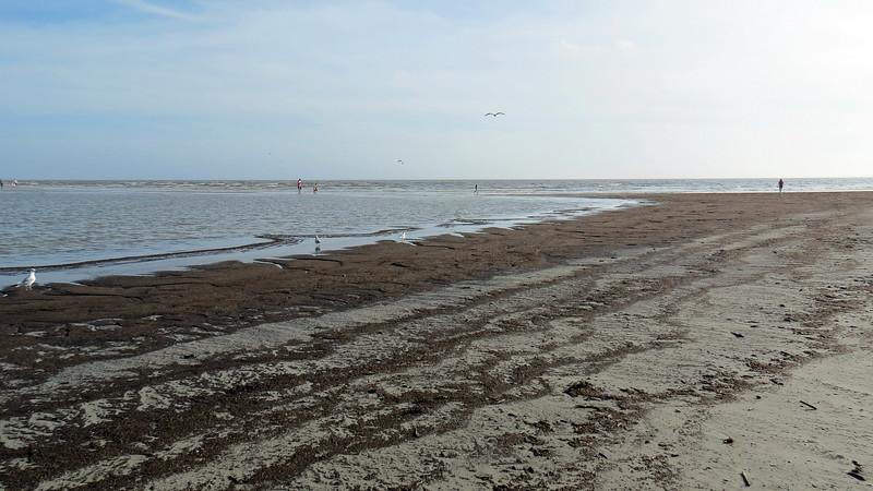 Approaching the sandbar.