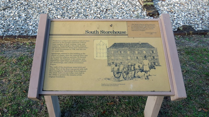 The South Storehouse was built in 1738.