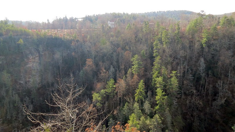 The Tallulah Gorge from Overlook 1A.