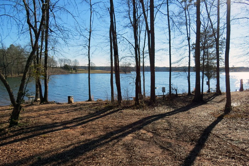 Bear Creek Reservoir is a relatively new lake that was created in 2002 after the construction of a dam on Bear Creek.