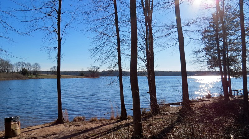 Bear Creek Reservoir is a popular place for fishing.