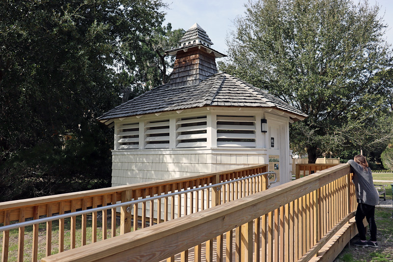 Across from Villa Marianna and the Gould Casino sits the Solterra Dovecote.