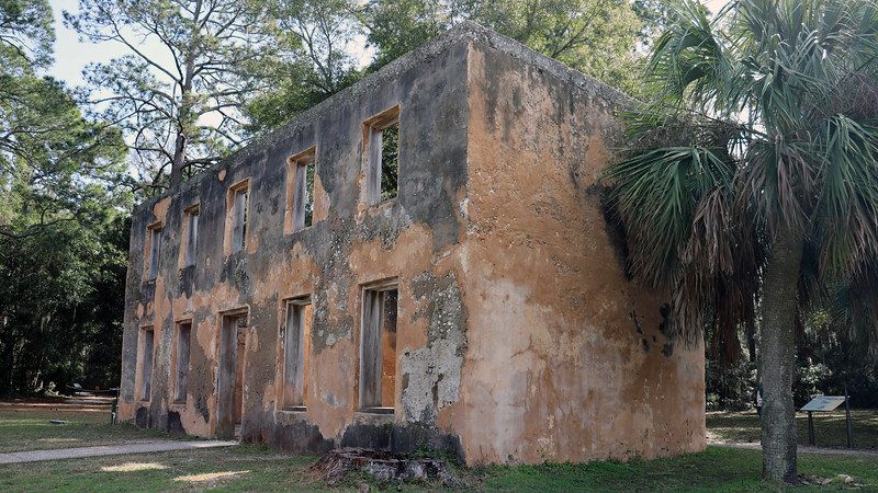 Horton's first home was a wooden structure that was destroyed during the Spanish attacks of 1742.  This building was completed in 1743.