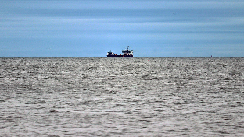 We also spotted several vessels in the distance.