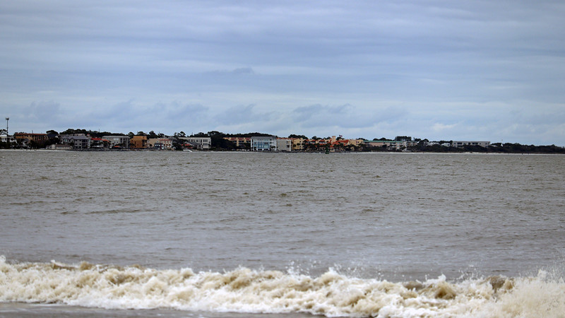 Zooming in on St. Simons Island.