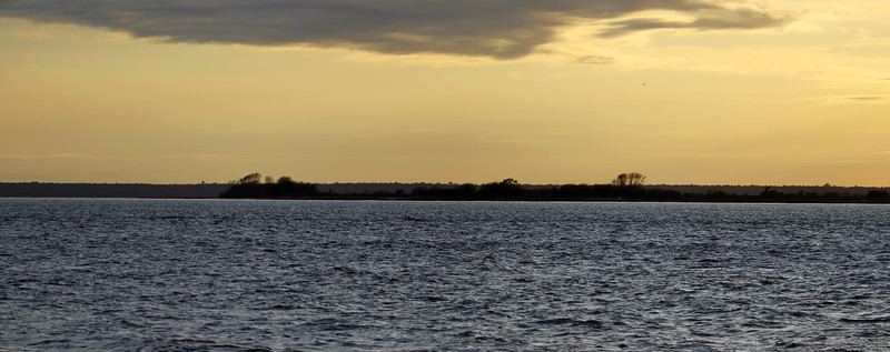 Another two-picture panorama looking across Jekyll Sound.