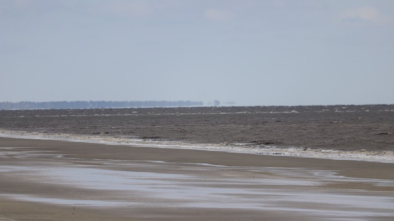 Looking north toward St. Simons Island.
