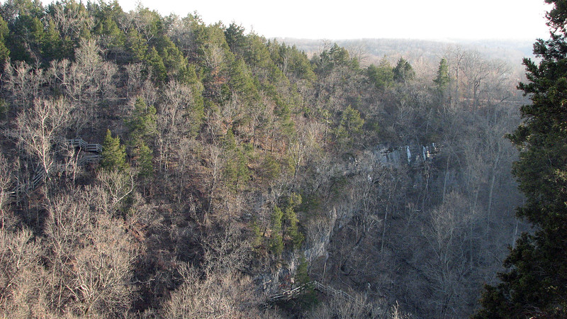 This area is filled with walking trails, some of which can be seen in the photo above.