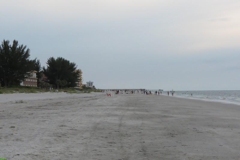 The beach at Indian Shores, Florida, USA.