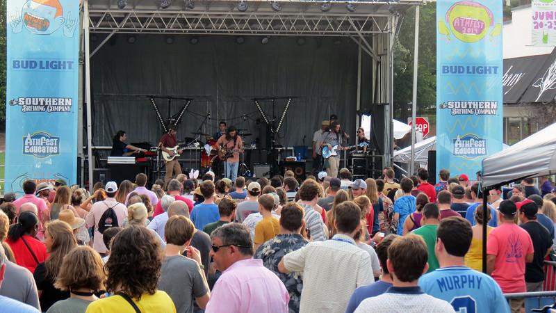 The Orange Constant is a local band originally from Statesboro, Georgia.