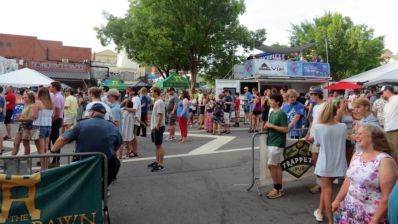 Athfest is a giant music and arts festival that is held across several blocks of the downtown area.